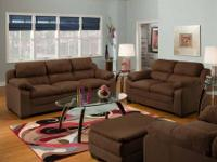 Brand new Simmons brand sofa and love seat for only