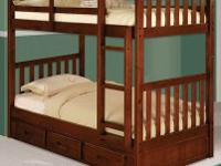 Solid wood wholesale overstock. twin/twin $480,