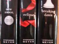 3 of the Twilight Series books - HARDBACK - GREAT