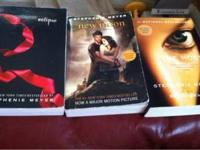 I am asking $12 for all three books. Or $4 a piece. .