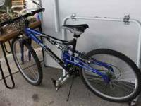 New Mongoose Mountain bike. If you want come see it or