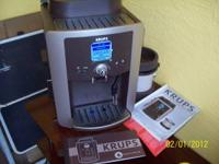 Brand new, never used KRUPS Expresso and Coffee Maker,