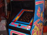 This is a brand new Ms Pacman or Galaga upright arcade