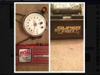 "I am selling a new MSD 6AL ignition box, a new""10 tach"