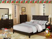 Unbeatable price on a NEW Murry Bedroom Set. Only $639.