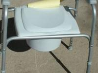 brand new INVACARE portable potty chair. This is