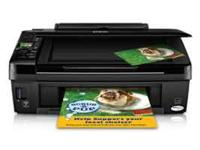 THIS IS A BRAND NEW NEVER USED WIRELESS EPSON PRINTER