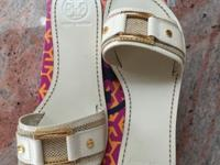 New in original box Tory Burch sandals Size 7.5 This ad