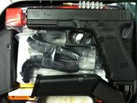 I have a brand brand-new Glock 17 Gen. 4 full size 9mm.
