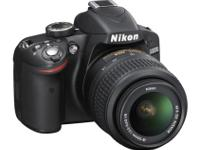 Nikon D3200 24.2 MP CMOS Digital SLR with 18-55mm f/3.5