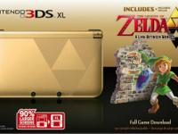New in box Gold 3DS XL THE LEGEND OF ZELDA: A LINK