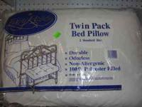 We have New Non-Allergenic Pillows! ..... 2 Pack for