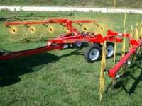 NEW OGDEN HIGH CAPACITY HR12 HYBRID HAY FUNNER (HAY