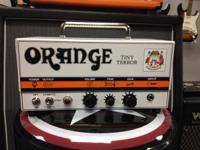 The 15W Orange Amplifiers Tiny Terror TT15 Mini guitar