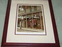This is a beautiful Print of the famous New Orleans