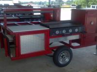 All new trailers come with a heating manifold, powder