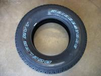 These are new P265/70/R17 Bridgestone Dueler RVT
