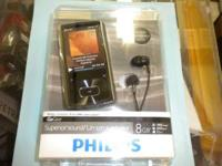 I'm selling a Brand New 8GB Philips GoGear Ariaz