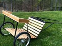 "New pony cart. Built to fit 36""-48"" ponies. More sizes"