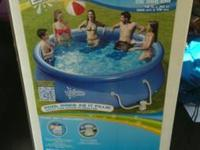 Have a brand new pool with brand new water hose bose