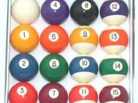 New Set of Billiard Pool Balls $25  Location: Baltimore