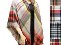 New popular style poncho blanket scarves arrival, check