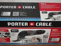 Up for sale is a brand new in box Porter Cable 12-Volt