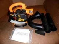 This is a new Poulan Pro blower vac Its 200 mph with