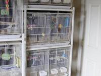 New Prevue Clean Life series bird cage for sale. The