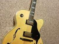 Unsurpassed in tonal power, this jazz guitar
