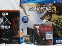 NEW/UNOPENED UNCHARTED 3 PLAYSTATION 3/PS3 250GB GAME
