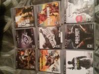 games are like new. I also have far cry 3 forgot to put