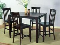 New Dinette Pub Dining Set. This is still factory