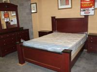 NEW QUEEN DIMENSION BEDROOM SUITE FOR $1299.
