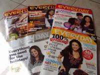 Everyday with Rachael Ray 9 magazines....2 are Double