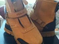 I have a brand new pair of polo boots by Ralph Lauren
