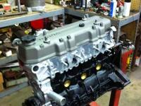 This is a brand-new rebuilt 22re Toyota engine. This