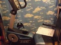 Brand new, never used, fully assembled Recumbent bike.