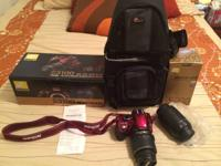 Hello. I am offering my Nikon D3100 camera. It is a