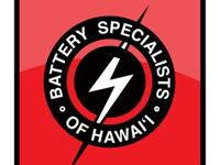Battery Specialists of Hawaii is a locally owned and