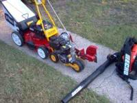 Must sell all new lawn maintenance equipment, bought