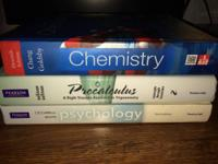 I have the following textbooks for sell to any