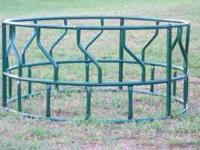 New round bale hay ring feeders $ 135.00 Horse hay