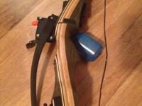 This is a brand-new Sage Recurve Bow. ** bare bow,