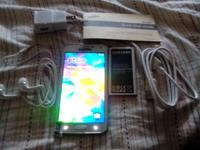16GB -4 GLTE UNLOCKED SAMSUNG GALAXY S5 After I entered