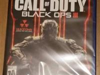 Up for sale is a video game Title Call of Duty Black