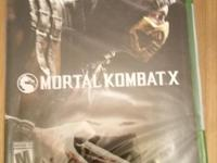 Up for sale is a video game Title Mortal Kombat X 10