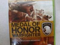 NEW/SEALED XBOX 360 Medal of Honor Warfighter:Project