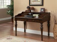 Beautiful new writing desk-hardwood construction.