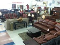 Brand New Sectionals from $399  WHO: FURNITURE